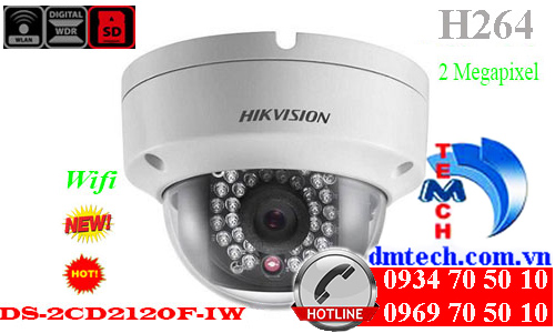 Camera IP HIKVISION DS-2CD2120F-IW