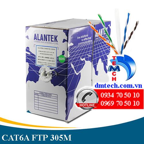 CÁP MẠNG ALANTEK CAT6A FTP-301-60F8LG-00GY