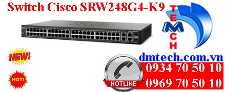 Switch Cisco SRW248G4 - K9