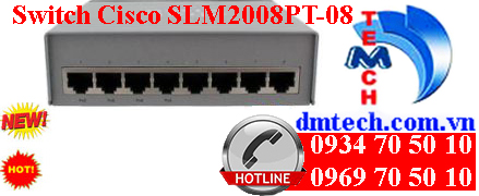 Switch Cisco SLM2008PT-08