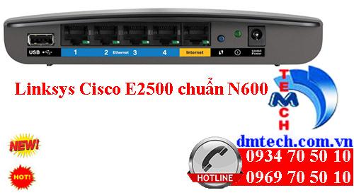 Linksys E2500 N600 chuẩn wireless-N