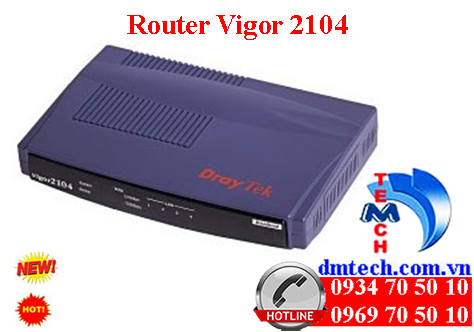 Router Vigor2104