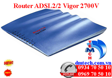 Router ADSL2/2 Vigor 2700V
