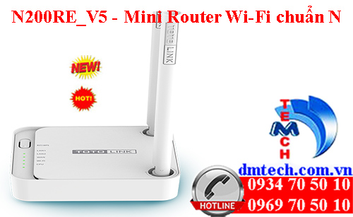 N200RE_V5 - Mini Router Wi-Fi chuẩn N 300Mbps