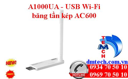 A1000UA - USB Wi-Fi băng tần kép AC600