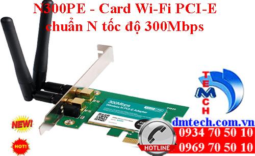 A1900PE - Card mạng Wi-Fi băng tần kép PCI-E AC1900