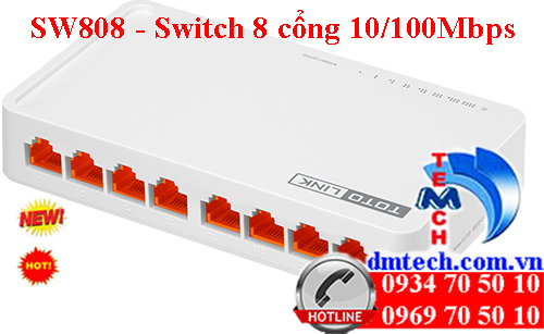 S808 - Switch 8 cổng 10/100Mbps