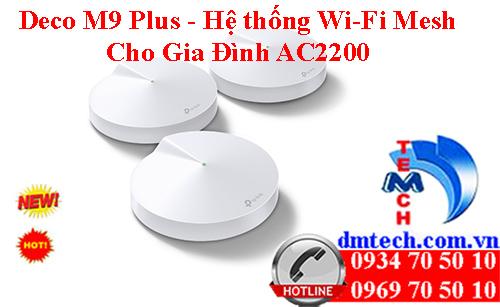 Deco M9 Plus - Hệ thống Wi-Fi Mesh cho Gia Đình AC2200
