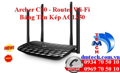 Archer C6 - Router Wi-Fi MU-MIMO Gigabit AC1200