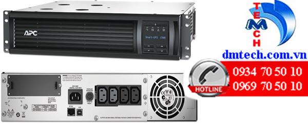 Bộ lưu điện APC Smart UPS 1500VA LCD RM 2U 230V SMT1500RMI2U