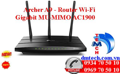 Archer A9 - Router Wi-Fi Gigabit MU-MIMO AC1900