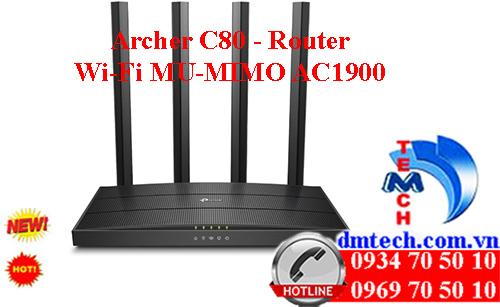 Archer C80 - Router Wi-Fi MU-MIMO AC1900