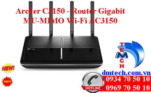 Archer C3150 - Router Gigabit MU-MIMO Wi-Fi AC3150