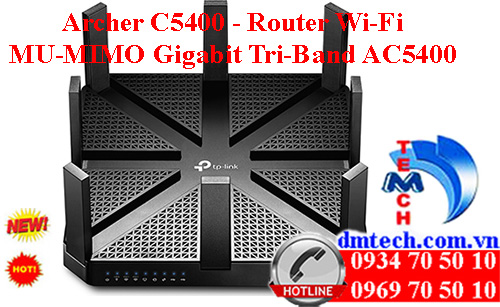 Archer C5400 - Router Wi-Fi MU-MIMO Gigabit Tri-Band AC5400