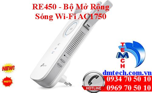 RE450 - Bộ Mở Rộng Sóng Wi-Fi AC1750