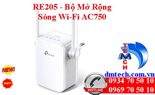 RE205 - Bộ Mở Rộng Sóng Wi-Fi AC750