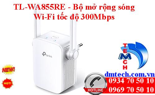 TL-WA855RE - Bộ mở rộng sóng Wi-Fi tốc độ 300Mbps