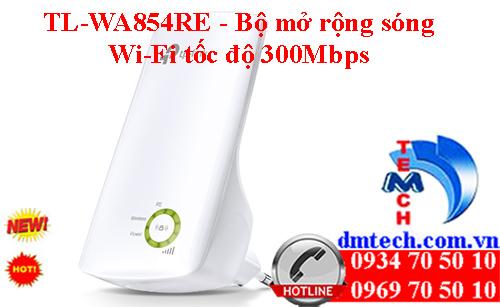 TL-WA854RE - Bộ mở rộng sóng Wi-Fi tốc độ 300Mbps