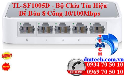 TL-SF1005D - Bộ Chia Tín Hiệu Để Bàn 5 Cổng 10/100Mbps