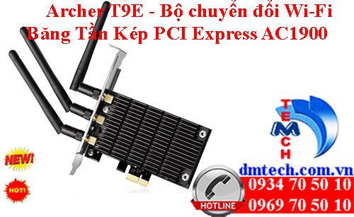 Archer T9E - Bộ chuyển đổi Wi-Fi Băng Tần Kép PCI Express AC1900