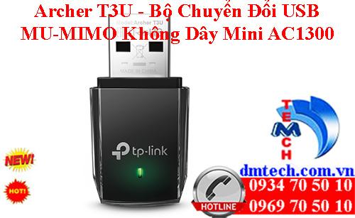 Archer T3U - Bộ Chuyển Đổi USB MU-MIMO Không Dây Mini AC1300