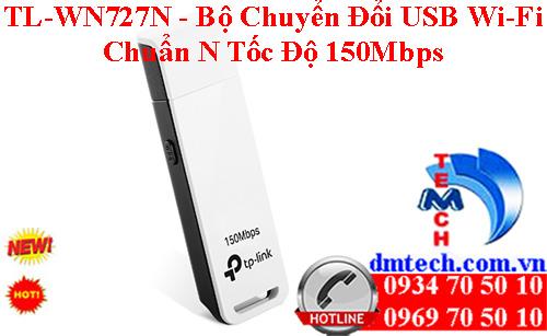 TL-WN727N - Bộ Chuyển Đổi USB Wi-Fi Chuẩn N Tốc Độ 150Mbps