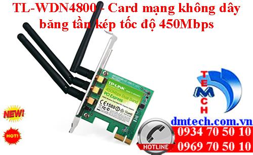 TL-WDN4800 - Card mạng không dây băng tần kép tốc độ 450Mbps