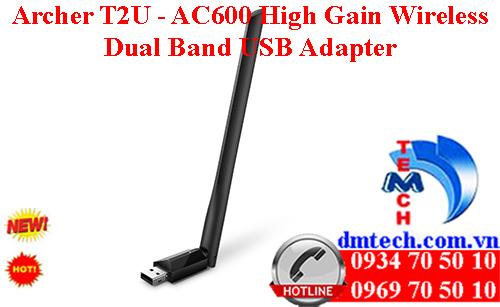 Archer T2U - AC600 High Gain Wireless Dual Band USB Adapter