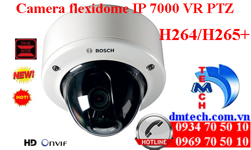 Camera flexidome IP 7000 VR PTZ