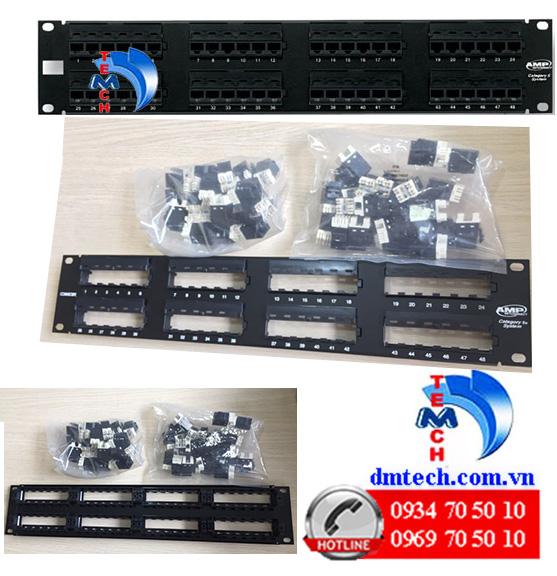 Patch panel AMP Cat6 48 port-1375015-2