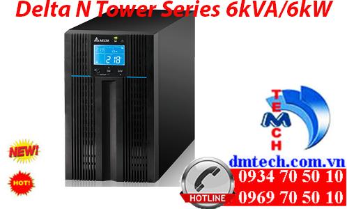 Bộ lưu điện Delta N Tower Series 6kVA/6kW On-Line UPS
