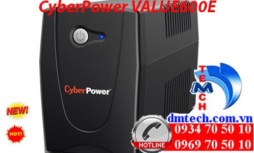 Bộ lưu điện CyberPower VALUE600E