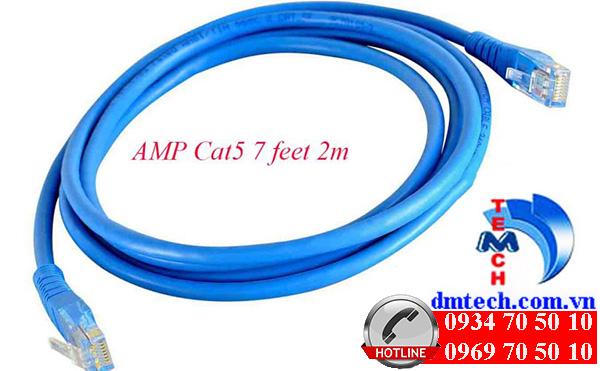 DÂY NHẢY PATCH CORD AMP CAT5 2M-1859239-7