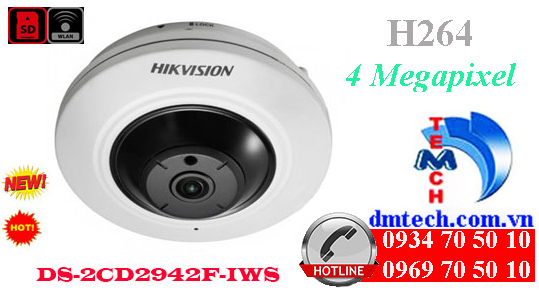 Camera IP HIKVISION DS-2CD2942F-IWS