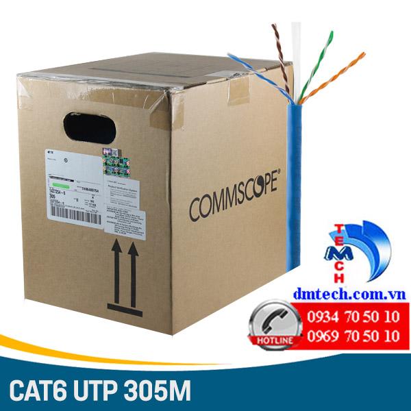 CÁP MẠNG AMP CAT6 UTP-1427254-6