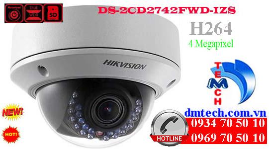 Camera IP HIKVISION DS-2CD2742FWD-IZS