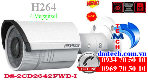 Camera IP HIKVISION DS-2CD2642FWD-I