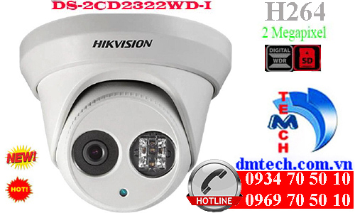 Camera IP HIKVISION DS-2CD2322WD-I