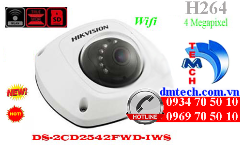 Camera IP HIKVISION DS-2CD2542FWD-IWS