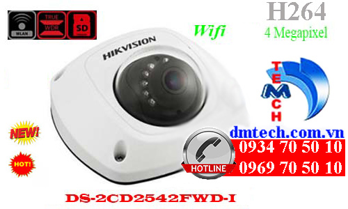 Camera IP HIKVISION DS-2CD2542FWD-I
