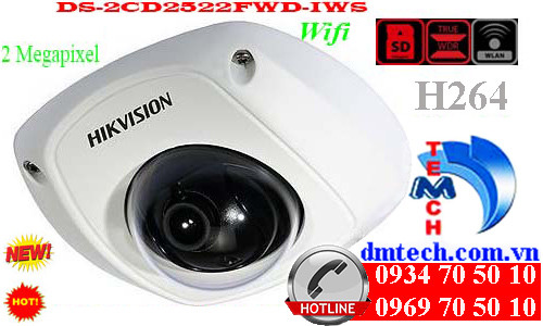 Camera IP HIKVISION DS-2CD2522FWD-IWS